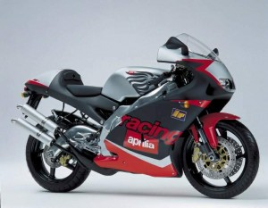what does cc mean motorcycle terminology lesson - aprilia rs250 - www.MotorbikeLicense.com