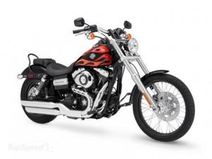 main styles of road motorbikes - harley-davidson fxdw - www.MotorbikeLicense.com
