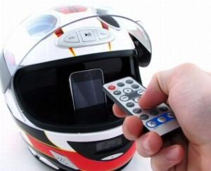 Do motorcycles have radios - helmet stereo - www.MotorbikeLicense.com
